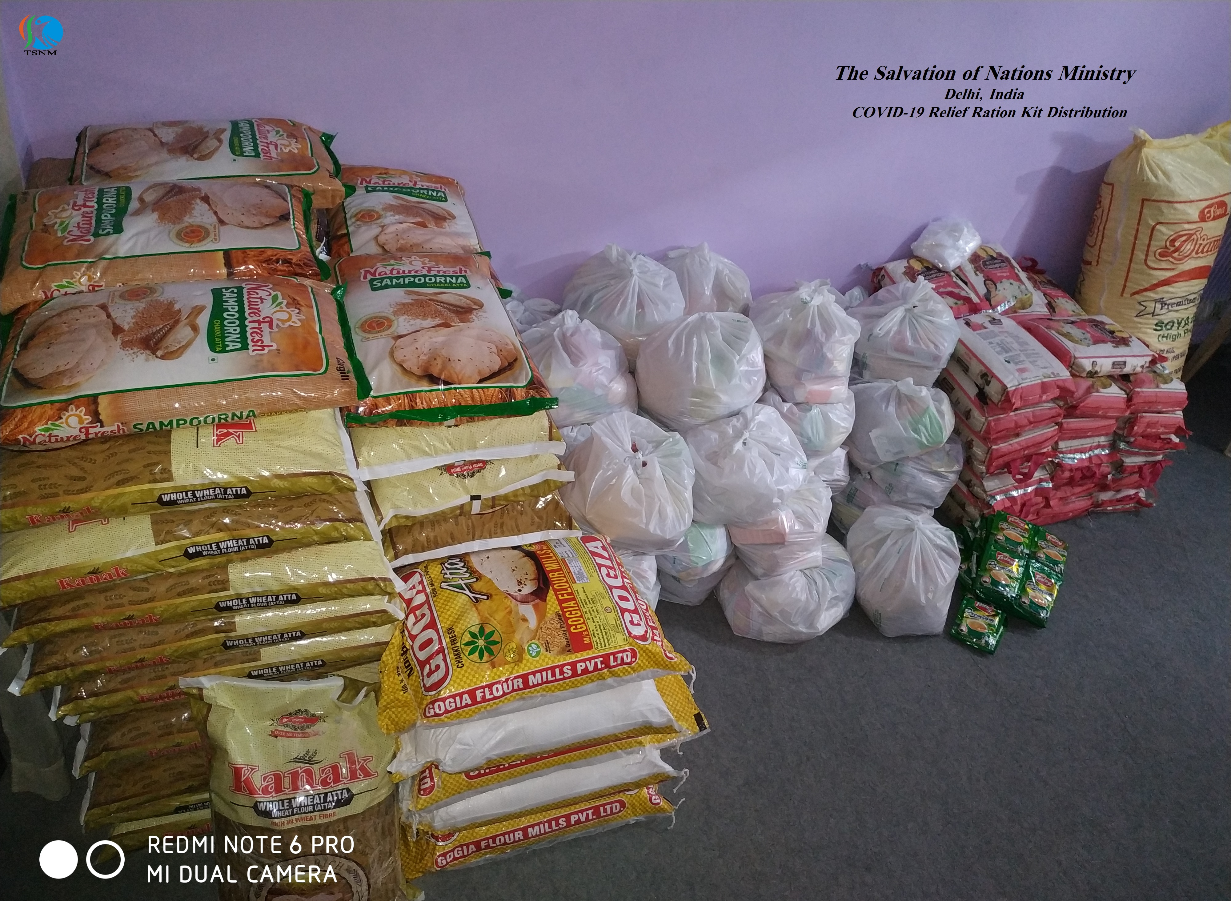 COVID-19 Relief Ration Distribution